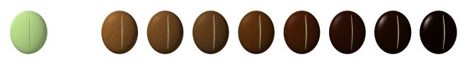 コーヒー豆 焙煎の違い