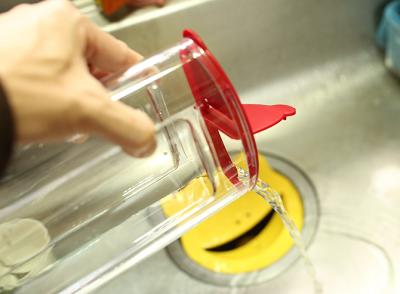 ドリップポッド タンクの水を捨てる