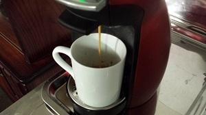 モーニングコーヒー 抽出