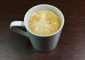 モーニングコーヒー 完成