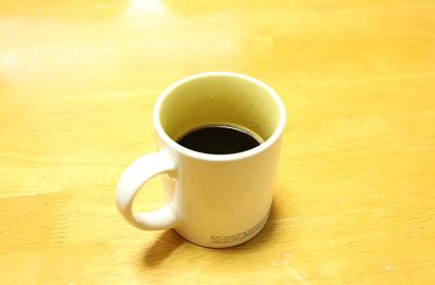 ドリップポッド コーヒー抽出完了