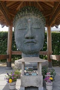 無量光寺の首大仏