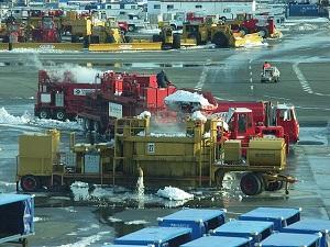 冬季作業車両