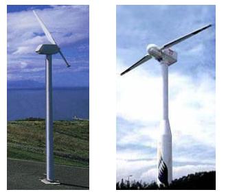 1枚翼 2枚翼 風車