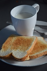 パン 牛乳