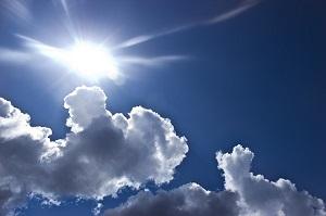 日差し 太陽