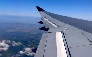 飛行機の左翼