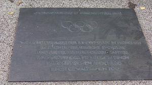 ミュンヘンオリンピックテロ慰霊プレート