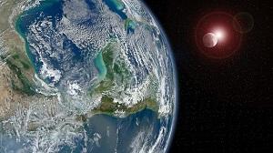 太陽 月 地球