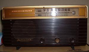 1950年代のラジオ
