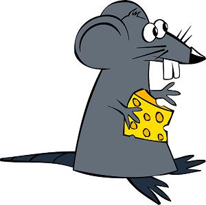 チーズ ネズミ