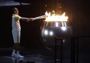 リオオリンピックの聖火