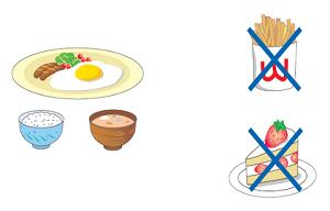 シンクロ選手の食事指導