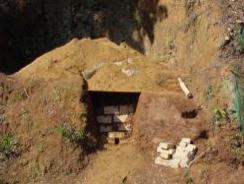 炭を作る窯