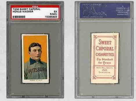 タバコの野球カード