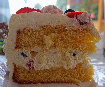 手作り スポンジ ケーキ
